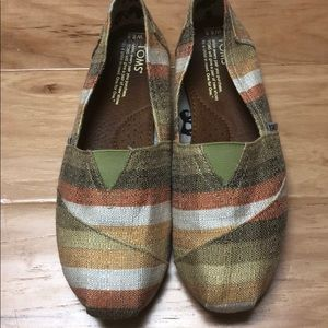 Toms Fall Stripes espadrilles